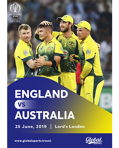 ICC Cricket World Cup 2019 Tickets Packages & Tours